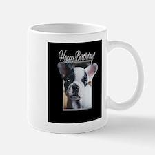 Happy Birthday French Bulldog Mugs