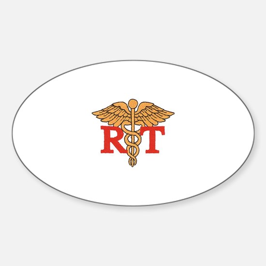 Respiratory Therapist Oval Decal