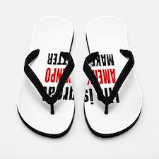 American Kenpo Martial Arts Designs Flip Flops
