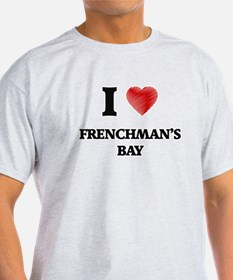 I love Frenchman'S Bay Virgin Islands T-Shirt