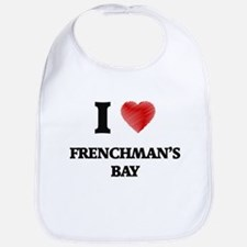 I love Frenchman'S Bay Virgin Islands Bib