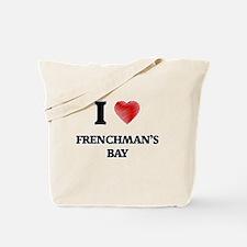 I love Frenchman'S Bay Virgin Islands Tote Bag