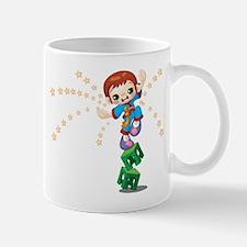 Karate kid design Mugs
