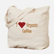 I (Heart) Organic Coffee Tote Bag