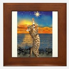 The Bengal Cat Framed Tile