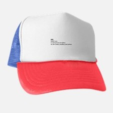 Dad - Dictionary Definition Trucker Hat