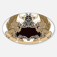 Grunge griffin emblems Decal