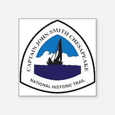 Captain John Smith Chesapeake National Sticker