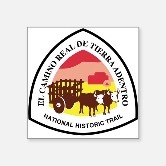 El Camino Real De Tierra Adentro National Sticker