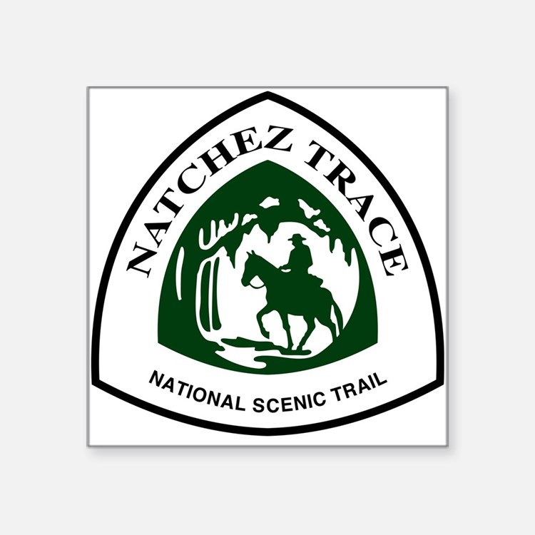 Natchez Trace National Scenic Trail Sticker
