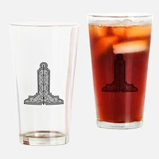 Masonic Level Drinking Glass