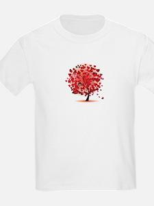 TREE OF HEARTS - VALENTINE T-Shirt