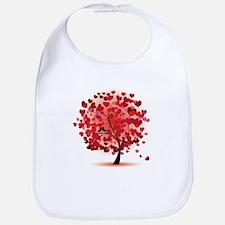 TREE OF HEARTS - VALENTINE Bib