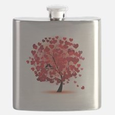 TREE OF HEARTS - VALENTINE Flask