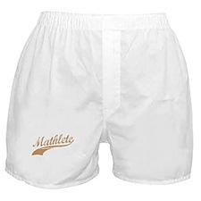 Mathlete Cocoa Boxer Shorts