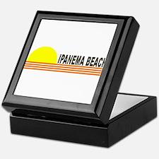 Ipanema Beach, Brazil Keepsake Box