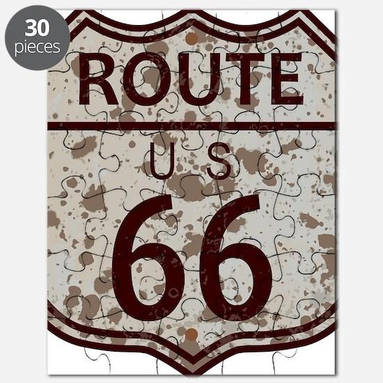Unique Route 66 Puzzle