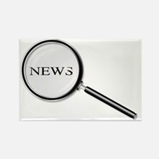 Cute News agency Rectangle Magnet