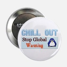 """Funny Penguin mother 2.25"""" Button"""