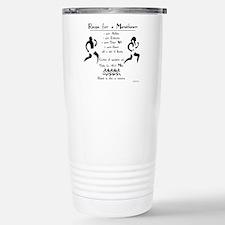 Unique Marathoner Travel Mug