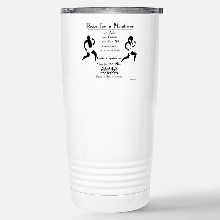 Cute Marathoners Travel Mug