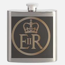 Funny England Flask