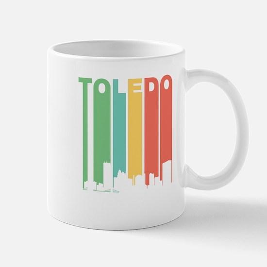 Vintage Toledo Cityscape Mugs