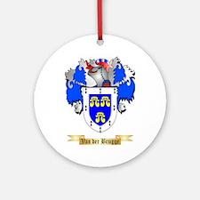 Van der Brugge Round Ornament