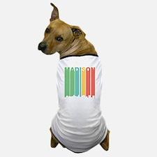 Vintage Madison Cityscape Dog T-Shirt