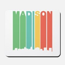 Vintage Madison Cityscape Mousepad