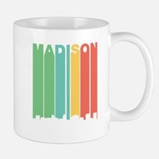 Vintage Madison Cityscape Mugs