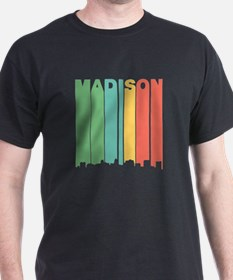 Vintage Madison Cityscape T-Shirt