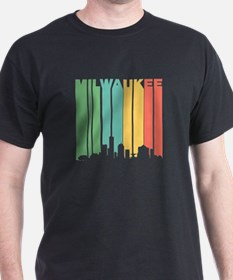 Vintage Milwaukee Cityscape T-Shirt