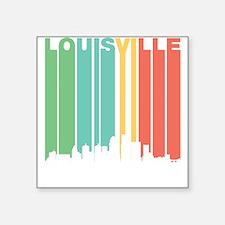 Vintage Louisville Cityscape Sticker
