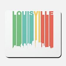Vintage Louisville Cityscape Mousepad