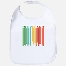Vintage Cleveland Cityscape Bib