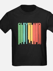 Vintage Cleveland Cityscape T-Shirt