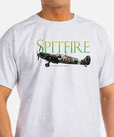 Beautiful Spitfire artwork on T-Shirt