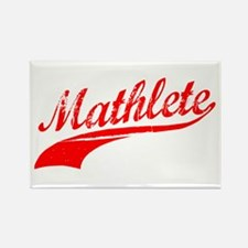 Mathlete Orange Rectangle Magnet (10 pack)