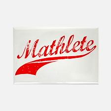Mathlete Orange Rectangle Magnet