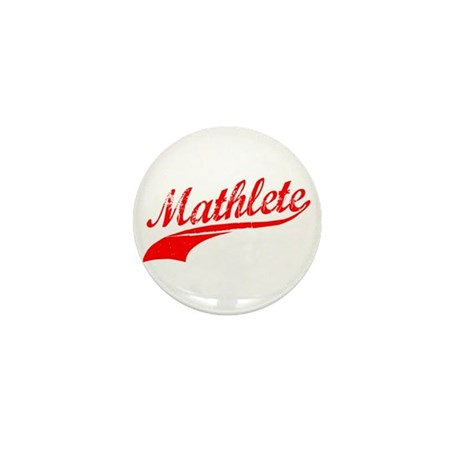 Mathlete Orange Mini Button (10 pack)