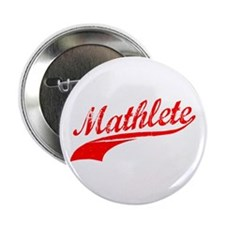 "Mathlete Orange 2.25"" Button"