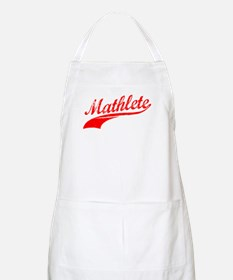 Mathlete Orange BBQ Apron