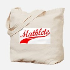 Mathlete Orange Tote Bag