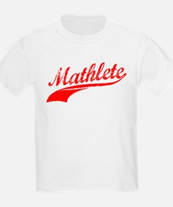 Mathlete Orange T-Shirt