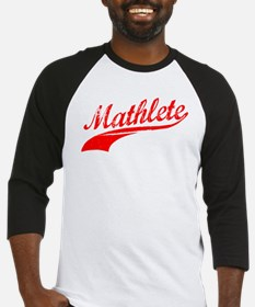 Mathlete Orange Baseball Jersey