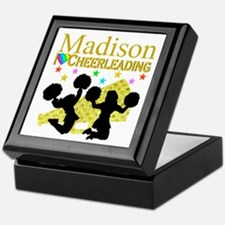 CUSTOM CHEERING Keepsake Box