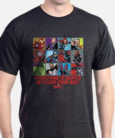 Avengers Everyone is Super T-Shirt