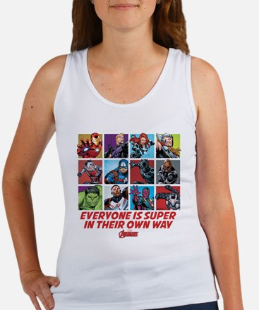 Avengers Everyone is Super Women's Tank Top