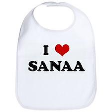 I Love SANAA Bib